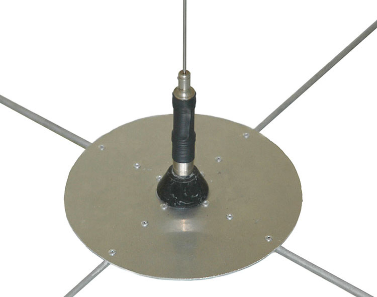 Non ground plane cb antenna
