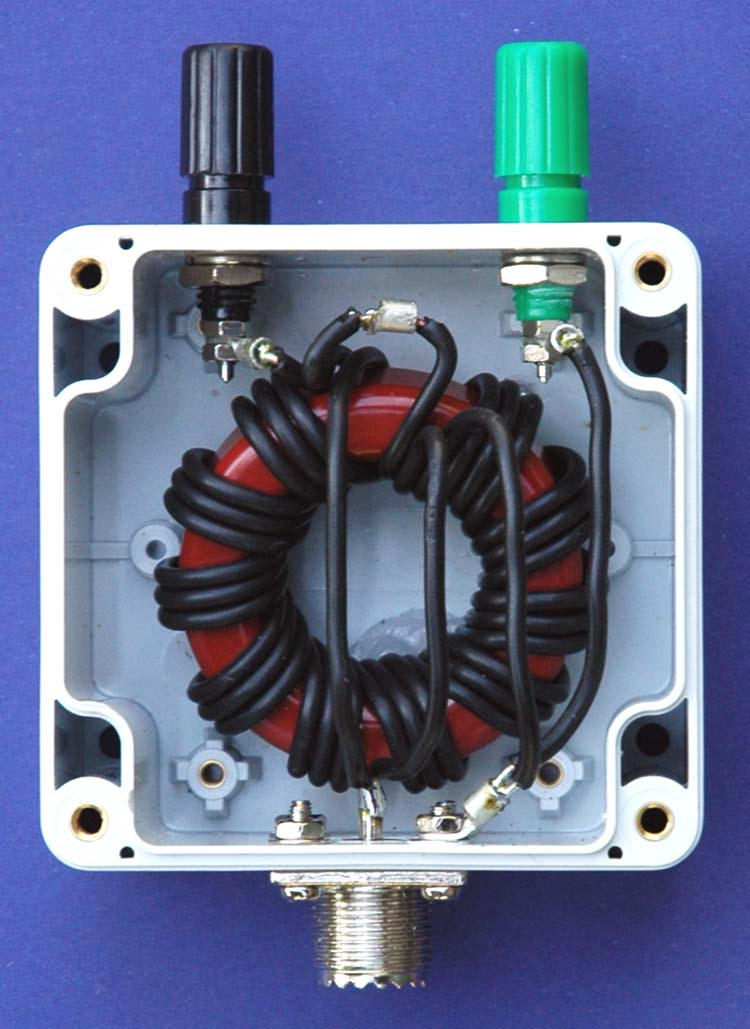 Magnetic Balun Un Un Antenne: Unun 9:1